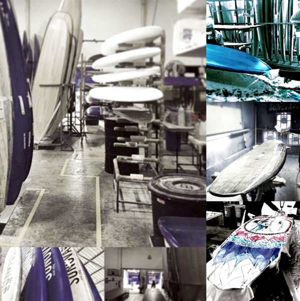 Sunova Windsurf Boards Factory